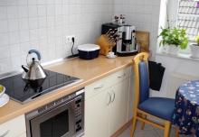 helle gemütliche Küche